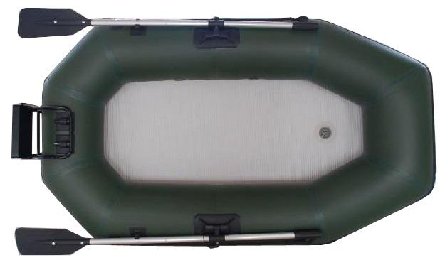 Durable 2m Folding Inflatable Boat With Air Mat Floor CE approved