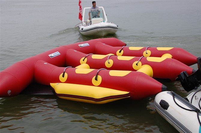 Korea pvc inflatable fly fishing boats 6 person for Inflatable fly fishing boats