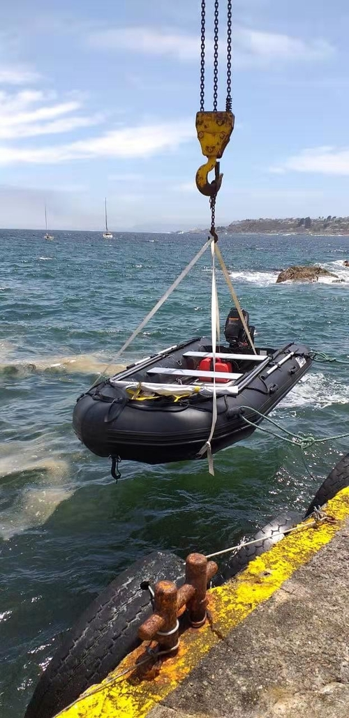 Testing Feedback of Military Boat from Chile Distributor