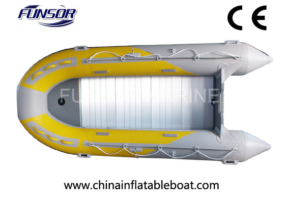 China EU CE approved Foldable Inflatable Boat with motor for fishing supplier