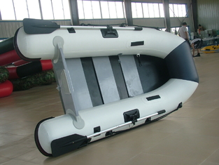 Lightweight Marine Foldable Inflatable Boat With Electric Trolling Motor