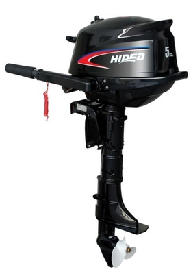 Gasoline / Machine Oil 4 Stroke 5hp Marine Outboard Engines 4500-5500rpm