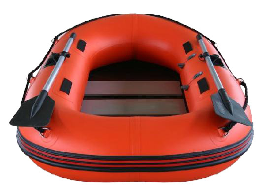 0.9mm PVC Fabric Inflatable Fishing Dinghy Hard Bottom Inflatable Boats