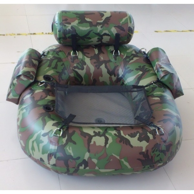 Unique Funny One Person Inflatable Fishing Dinghy Yellow Inflatable Boat