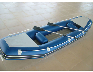 Customized Inflatable Sea Kayak 2 Person Inflatable Boat With Airmat Floor