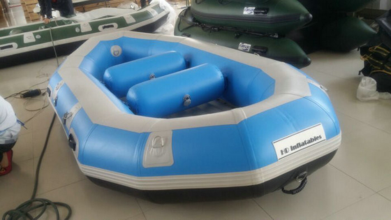 Water Sport PVC Heavy Duty Inflatable Boat 3 Person With 3.3m Length