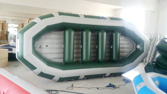 China Lightweight 440cm 6 Person Inflatable River Boats With Airmat Floor supplier