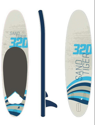 China High Pressure Double Layers Inflatable Stand Up Paddle Board Customized Color supplier
