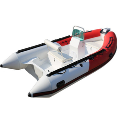 14.1ft Military Pvc Fiberglass Rigid Hulled Inflatable Boat 430cm Length