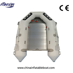 PVC Foldable Inflatable Boat M Series For Fishing , Folding Inflatable Boat