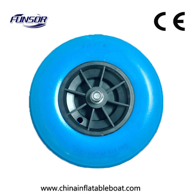 380 Reinforced Boat Launching Wheels To Carry Boat , Inflatable Boat Wheels