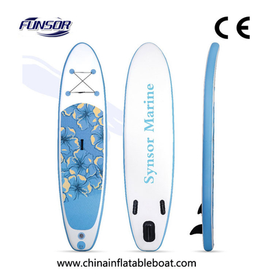 China Water Sports Sup Inflatable Paddle Board Jet Surfboard Skegs On Bottom supplier