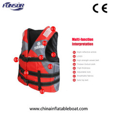 Adult / Children EPE Foam YAMAHA Life Jacket , Safety Youth Xl Life Jacket