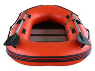 China 0.9mm PVC Fabric Inflatable Fishing Dinghy Hard Bottom Inflatable Boats factory