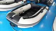 Aluminum Floor OEM Inflatable Fishing Boats With Outboard Motor , 230mm Length