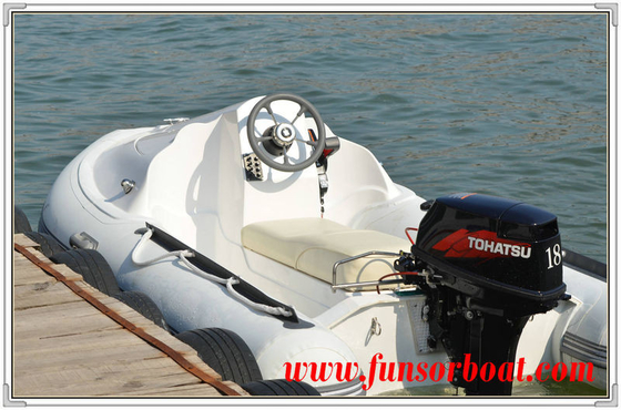 China Hard Bottom JET SKI RIB Rigid Inflatable Boats Three Person Inflatable Boat factory