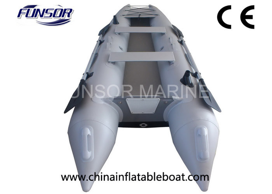 China 2 Persons 6HP Sit On Top Inflatable Sea Kayak With Carrying Bag distributor
