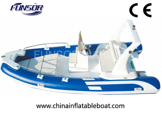 China High Performance Folding Fish Hunter Inflatable Boat 10 Person RIB550 distributor