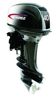 China Remote Control 40HP Two Stroke Marine Outboard Engines CE / SGS distributor
