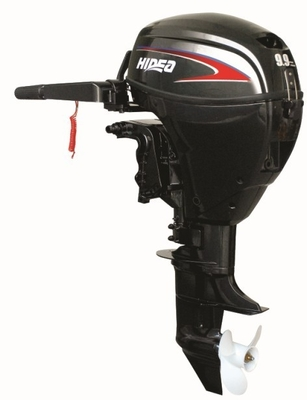 China 9.9 Horsepower 7.2Kw Marine Outboard Engines With Tiller Control distributor