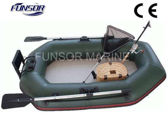 China Durable 2m Folding Inflatable Boat With Air Mat Floor CE approved distributor