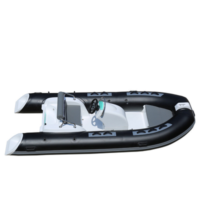 China Hot Sale Hypalon Or PVC RIB 390C Rigid Inflatable Boat With Outboard factory