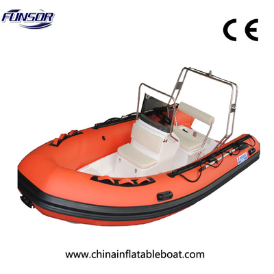 China RIB430 High Quality Rigid Inflatable Boat For Sport Or Rescue factory