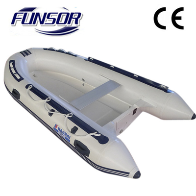 China Original FQB 330 PVC Rib Rigid Inflatable Boat For People To Fishing factory