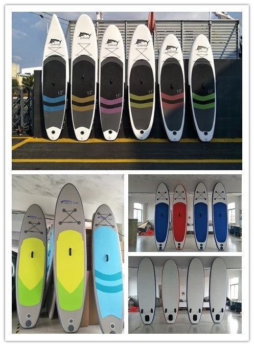 High Pressure Double Layers Inflatable Stand Up Paddle Board Customized Color